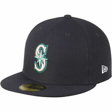 New Era Seattle Mariners Fitted Hat - MLB
