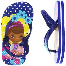 DOC McSTUFFINS & LAMBIE DISNEY Flip Flops Beach Sandals NWT Sz. 10 11 or 12  $20
