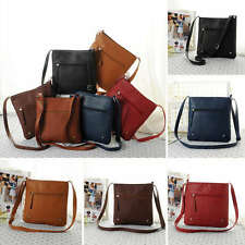 Fashion Women Shoulder Bag Messenger Bag Handbag Leather Satchel Cross Body Bags