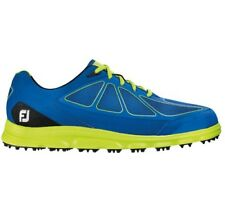 FootJoy Mens FJ Superlites CT Closeout Golf Shoes 58002 – Dark Blue/Lime - New