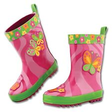 Girls Rainboots by Stephen Joseph - Butterfly or Horse Theme - New