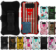 TRI-SHIELD DESIGN KOMBO CASE BELT CLIP HOLSTER FOR MOTOROLA DROID MAXX/ULTRA
