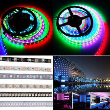 WS2812B 5050 RGB LED Strip Light 1M 60 144 5M 150 300 Individual Addressable 5V