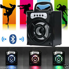 Outdoor Bluetooth Wireless Portable Speaker Bass with USB/TF/AUX/FM Radio LOT