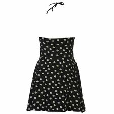 Lee Cooper Womens All Over Print Halter Neck Dress Ladies Summer Casual Top