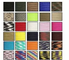 550 Paracord Parachute Cord Lanyard Mil Spec Type III 7 Strand Core100FT Y1