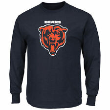 Chicago Bears Majestic Critical Victory Long Sleeve T-Shirt - Navy - NFL