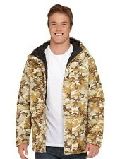 NWT $145 MENS QUIKSILVER COACH  WINTER JACKET HUNT CAMO PRINT