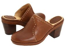 NIB $169 Frye Candy Pickstitch HANMADE PREMIUM LEATHER DESIGNER CLOGS
