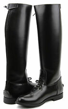 Fammz MB2 Women Ladies Motorcycle Police Patrol Leather Tall Knee High Boots