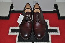 Brunello Cucinelli Made in Italy Captoe Leather Blucher Shoes
