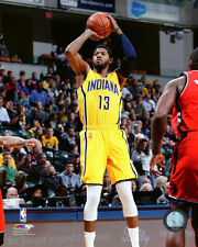Paul George Indiana Pacers 2015-2016 NBA Action Photo SO239 (Select Size)
