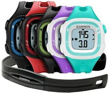 Garmin Forerunner 15 010-01241-00 GPS Running Watch with Heart Rate Monitor HRM