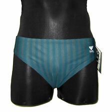 TYR POWERFLOW RACER BRIEF SWIMSUIT NWT GREEN
