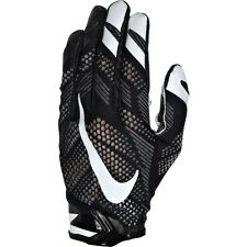 NWT MEN'S ADULT SKILL NIKE GF0386 001 VAPOR KNIT VPR FOOTBALL GLOVES BLACK $60