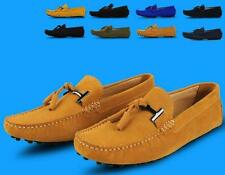 Stylish Men's casual Moccasin Loafer slip on Driving suede leather boats Shoes