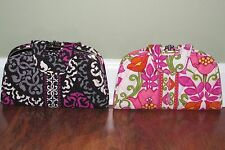 Vera Bradley CANTERBERRY MAGENTA or LILLI BELL Clutch Lock KISS N' SNAP WALLET