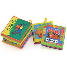 Baby Kid infant Intelligence development Soft Cloth Cognize Book Educational Toy