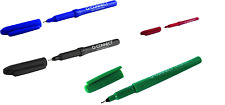 Pack of 4 Quality Fineliners pens 0.4mm line width fine (Drawing, Writing, Art)