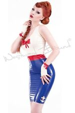 STUNNING RUBBER LATEX PIN UP Sailor R1220 DRESS **SHOWN** new