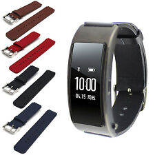 For Huawei TalkBand B3 Genuine Leather Watch Band Strap with Tool Classic Buckle