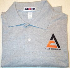 Mens Allis Chalmers Triangle Polo Shirt w/Pocket (5 colors)