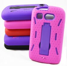 Hybrid Impact Kickstand Rugged Phone Cover for Kyocera Hydro C5170 Hard Case