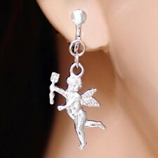 #E416A Clip On Little Angel Choose Style A or Style B Earrings Fashion Women