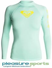 Roxy Rashguard Long Sleeve 50+ UPF Protection Whole Hearted Series BEST SELLER