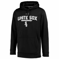 Chicago White Sox Under Armour Pullover Hoodie - Black - MLB