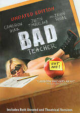 Bad Teacher Unrated Edition DVD Movie Cameron Diaz Justin Timberlake New In Wrap