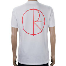 SP Polar Stroke Logo T-Shirt White Red skate