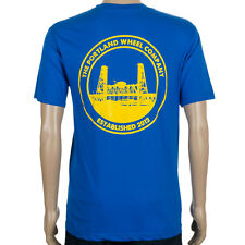 SP The Portland Wheel Co Logo T-Shirt Royal Blue skate