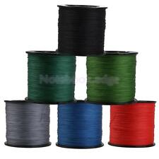 300M Super Strong Braided Freshwater Sea Fishing Line 4 Strands 22-50LB