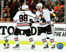 Patrick Kane & Jonathan Toews Chicago Blackhawks 2015 NHL West Finals Photo