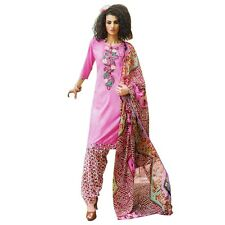 Ready To Wear Cotton Embroidered Printed Salwar Kameez Suit India-KK-Summer-1506