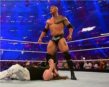 The Rock WWE WrestleMania 32 Action Photo SY192 (Select Size)