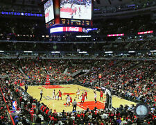 United Center Chicago Bulls NBA Licensed Action Photo QN005 (Select Size)
