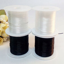 2 X Elastic Stretchy Beading Thread Cord Bracelet String For Jewelry Making Hot