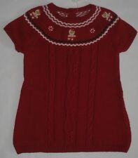 Gymboree Gingerbread Girl Sweater Dress 6 9 12 18 mo New Red Holiday Christmas
