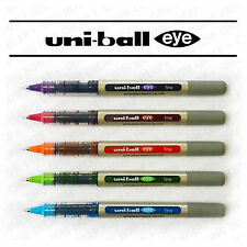 UNI-BALL EYE ROLLERBALL PEN UB-157 [5 PEN SET]  'TROPICAL COLOURS PACK'