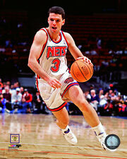 Drazen Petrovic New Jersey Nets NBA Action Photo PL083 (Select Size)