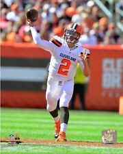 Johnny Manziel Cleveland Browns 2015 NFL Action Photo SH201 (Select Size)