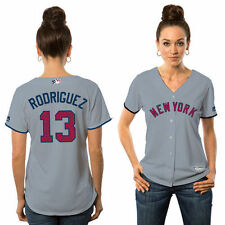Alex Rodriguez Majestic New York Yankees Baseball Jersey - MLB