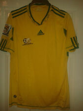 2 X Mens Football Shirt - South Africa National Team Home 2004 / 2010 World Cup