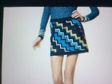 Missoni for Target Sweater Skirt Zigzag Multicolor: BLUE,