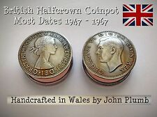 British Halfcrown Coin Snuff Box or Stash Pot . Most dates available 1947 - 1967