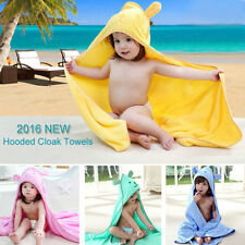 Boys Kids Girls Baby Hooded Bath Towel Home Bathroom Children Poncho Beach Towel