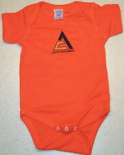 Infant Allis Chalmers Triangle Solid or Camo Romper (6 colors)