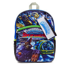 """SKYLANDERS SUPERCHARGERS 16"""" Full-Size Backpack w/ Optional Insulated Lunch Box"""